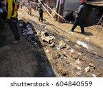 kibera slum kenya   september... | Shutterstock . vector #604840559