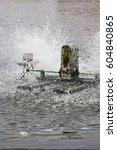 Small photo of Aeration turbine in farming aquatic