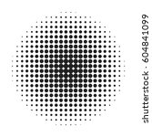 halftone circle background.... | Shutterstock .eps vector #604841099