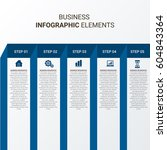 abstract modern business... | Shutterstock .eps vector #604843364