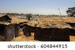 kibera slum kenya   september... | Shutterstock . vector #604844915