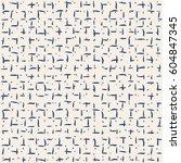 vector tie dye seamless pattern.... | Shutterstock .eps vector #604847345