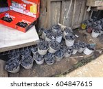kibera slum kenya   september... | Shutterstock . vector #604847615
