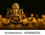 lord ganesha | Shutterstock . vector #604848281