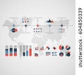 timeline vector infographic.... | Shutterstock .eps vector #604850339