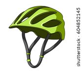 protective helmet for cyclists. ...   Shutterstock .eps vector #604852145