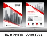 annual report brochure flyer... | Shutterstock .eps vector #604855931