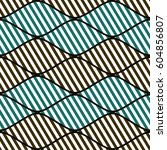 seamless vector abstract... | Shutterstock .eps vector #604856807