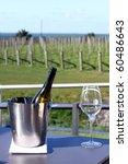 wine bucket and glass  new...   Shutterstock . vector #60486643