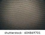 wavy lines background  | Shutterstock . vector #604869701