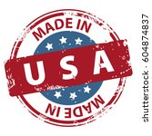 made in the usa rubber stamp...   Shutterstock .eps vector #604874837