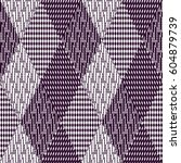 vector seamless pattern ... | Shutterstock .eps vector #604879739