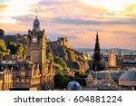 Edinburgh Skyline Seen From...