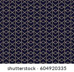 abstract geometric pattern with ... | Shutterstock .eps vector #604920335