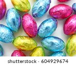 Chocolate Easter Eggs In...