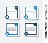 infographic brochures design.... | Shutterstock .eps vector #604930319