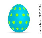 easter egg | Shutterstock .eps vector #604939385