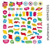 web banners and labels. special ... | Shutterstock .eps vector #604942331