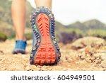 Hiking Or Running Woman In...