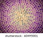 Tile Mosaic Design Background...