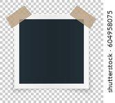 square image frame concept ... | Shutterstock .eps vector #604958075