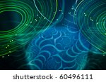 looking up at glowing  swirling ... | Shutterstock . vector #60496111