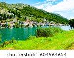 croatia countryside  | Shutterstock . vector #604964654
