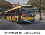 lisbon  portugal   february  22 ... | Shutterstock . vector #604983401