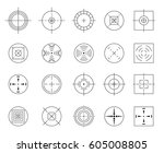 collection of vector flat... | Shutterstock .eps vector #605008805