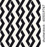 vector seamless pattern.... | Shutterstock .eps vector #605019767