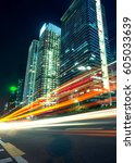 urban roads in the city   Shutterstock . vector #605033639