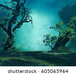 3d Landscape Illustration Wher...