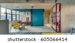 Modern Business Interior With...