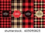 Lumberjack Seamless Patterns...