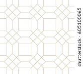 art deco seamless background.   Shutterstock .eps vector #605100065