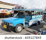 Wooden Bus For Local People In...