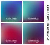 abstract creative concept... | Shutterstock .eps vector #605144555