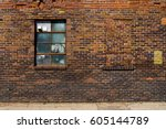 Old Brick Wall With Brick...