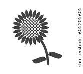 sunflowers | Shutterstock .eps vector #605205605