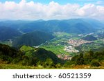 amazing ladnscape of the alps... | Shutterstock . vector #60521359