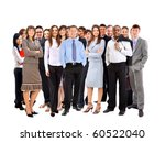 young attractive business... | Shutterstock . vector #60522040