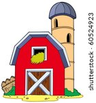 barn with granary   vector... | Shutterstock .eps vector #60524923