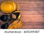standard construction safety   Shutterstock . vector #605249387