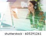 program development concept.... | Shutterstock . vector #605291261