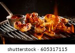 Spicy Marinated Chicken Wings...