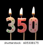 Burning Birthday Candles On...