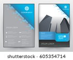cover design vector template... | Shutterstock .eps vector #605354714