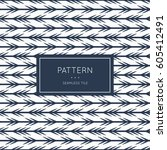 geometric seamless pattern.... | Shutterstock .eps vector #605412491