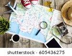 Travel Planning Concept Map - Fine Art prints