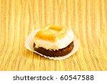 beautiful little cake on...   Shutterstock . vector #60547588